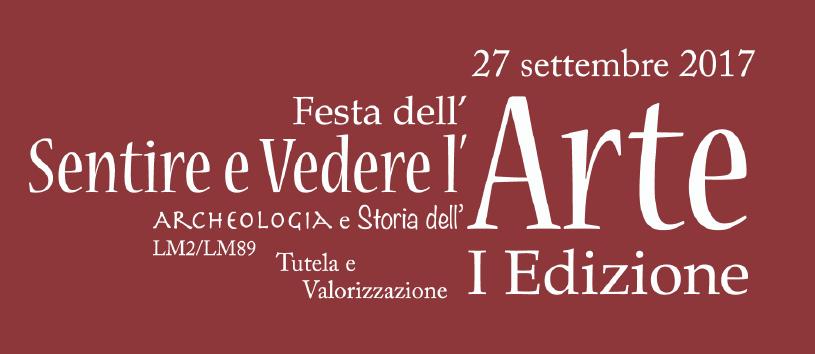 | 27 SETTEMBRE 2017 | VITERBO - Unitus, prima edizione della Festa l'arte!